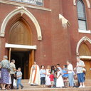 May Procession Through Downtown and Crowning 2014 photo album thumbnail 5