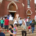 May Procession Through Downtown and Crowning 2014 photo album thumbnail 17