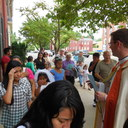May Procession Through Downtown and Crowning 2014 photo album thumbnail 47