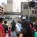 May Procession Through Downtown and Crowning 2014 photo album thumbnail 51