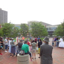 May Procession Through Downtown and Crowning 2014 photo album thumbnail 68