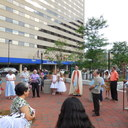 May Procession Through Downtown and Crowning 2014 photo album thumbnail 74