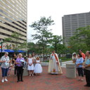 May Procession Through Downtown and Crowning 2014 photo album thumbnail 77