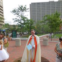 May Procession Through Downtown and Crowning 2014 photo album thumbnail 86