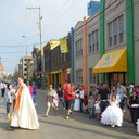 May Procession Through Downtown and Crowning 2014 photo album thumbnail 102